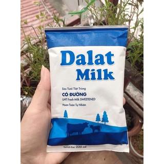 sữa tươi dalat có đường