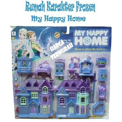 Nhà đồ chơi FROZEN MOTIF HOME – Đồ chơi giáo dục cho bé – MY HAPPY HOME
