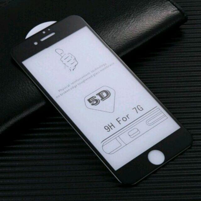 Kính cường lực full màn 5D xịn Cho iPhone 7G/8G