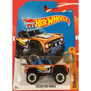 Xe mô hình Hot Wheels Custom Ford Bronco FCC15