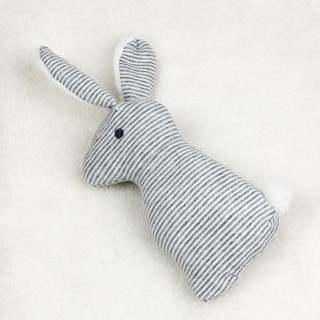😉[Ready Stock/COD]😉Plush Long Ear Rabbit Baby Rattle Toys Hand Bells Baby Toy with BB Sound