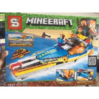Lego my world minecraft 7037 Tàu siêu tốc