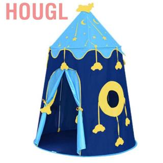 Hougl Cartoon Funny Folding Indoor Castle Kid Tent Play for Children Game Xmas Gift❤AU