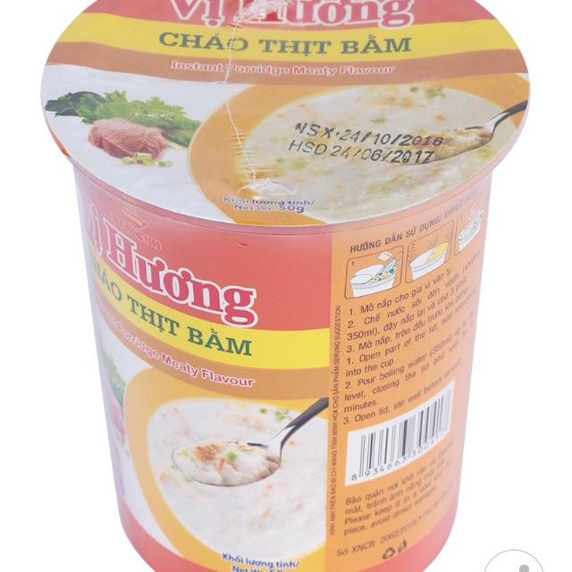 Cháo Vị Hương Thịt Bầm Ly 50G