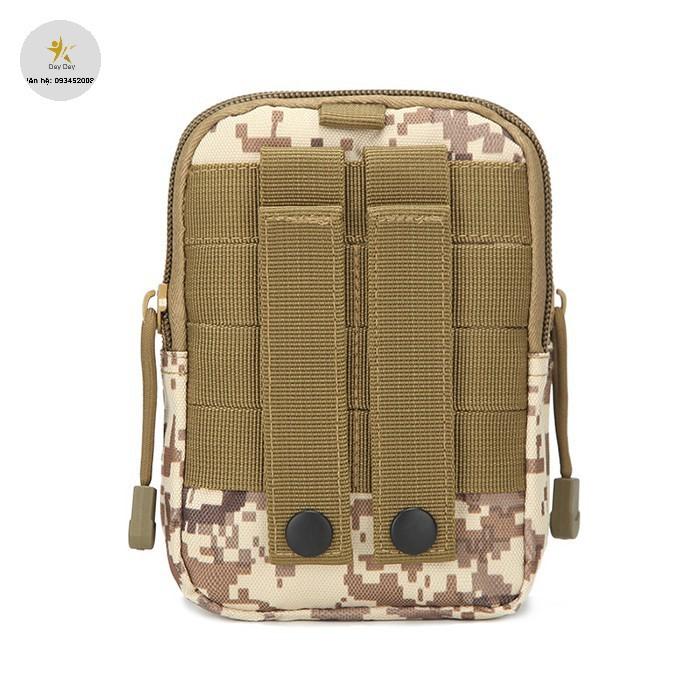 [SALE SIÊU HOT] Túi Đeo Hông Rằn Ri SWAT (Màu Sắc Họa Tiết Ngẫu Nhiên)
