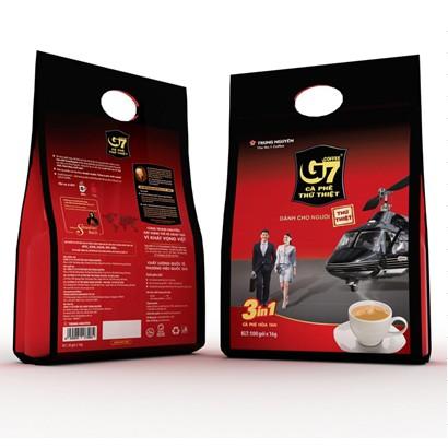 Cà Phê Sữa G7 3in1 bịch 50 gói(không tem)