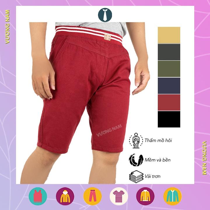 Quần short kaki nam vải dày lưng thun hàng đẹp chọn lọc có size lớn