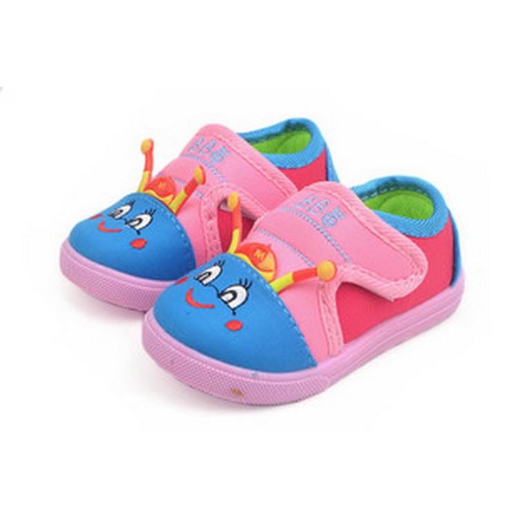 Giày tập đi bé trai, gái, khóa dán tiện lợi, kiểu dáng ngộ nghĩnh