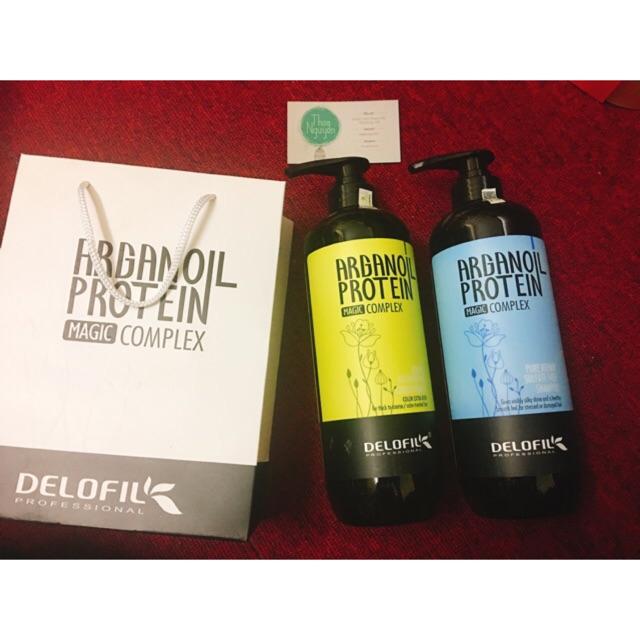 Bộ dầu gội + xả phục hồi dưỡng ẩm tóc Arganoil Delofil (500ml-800ml) - 2654435 , 447557197 , 322_447557197 , 498000 , Bo-dau-goi-xa-phuc-hoi-duong-am-toc-Arganoil-Delofil-500ml-800ml-322_447557197 , shopee.vn , Bộ dầu gội + xả phục hồi dưỡng ẩm tóc Arganoil Delofil (500ml-800ml)