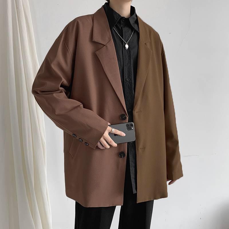 Áo Blazer Nam, Áo Vest Nam phong cách Hàn Quốc Dáng Rộng Retro BZ001 MrHero