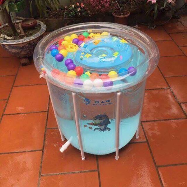 Bể phao bơi dolphil