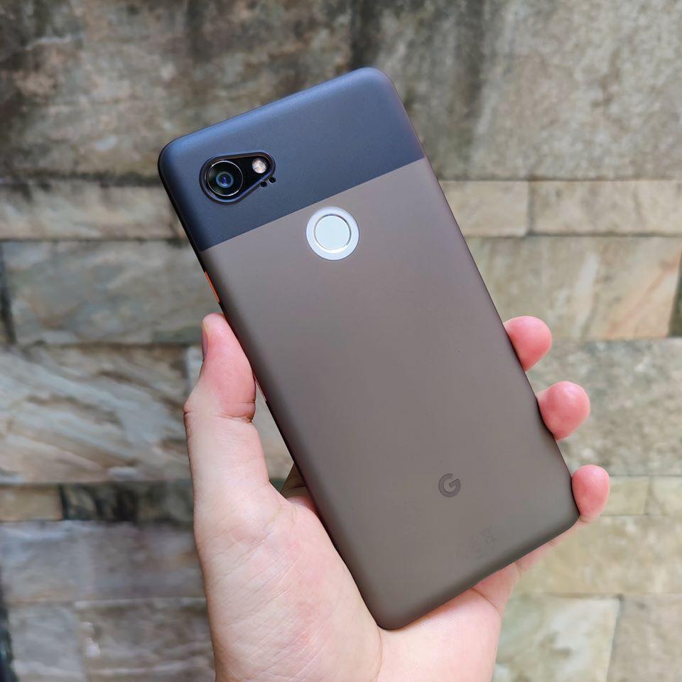 3. Ốp lưng Google Pixel 5, 4, 3 bằng nhựa dẻo siêu mỏng chống vân tay