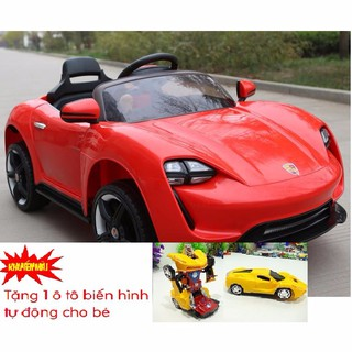 Xe ô tô điện trẻ em LT-928 (Tặng 1 ô tô biến hình tự động)