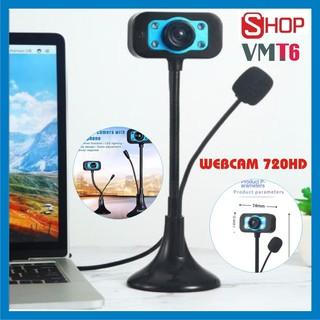 [Giá sập sàn] Webcam bàn 720p HD - Siêu nét đàm thoại dạy học và học trực tuyến - Bảo hành 12 tháng !
