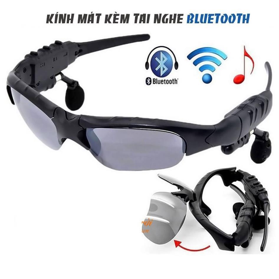 Mắt Kính Thời Trang Kiêm Tai Nghe Bluetooth thông minh