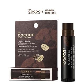 Cà Phê Đắk Lắk Làm Sạch Da Chết Môi Cocoon 5g
