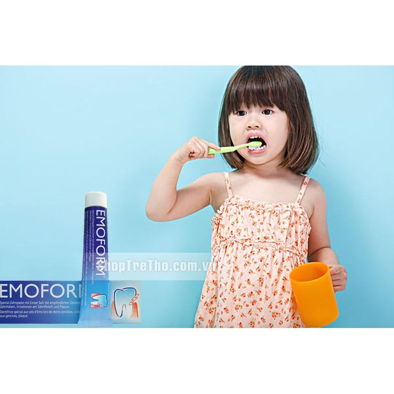 Kem đánh răng ngăn ngừa viêm lợi, chảy máu chân răng Emoform (Thụy Sỹ- hàng chính hãng)