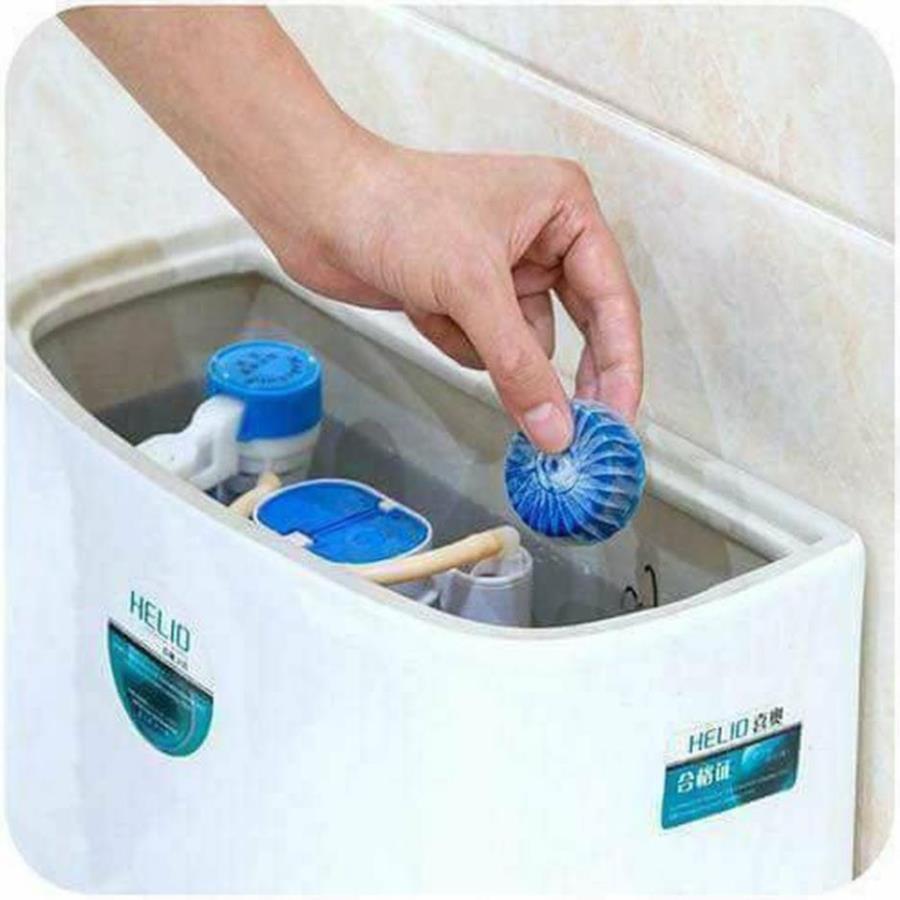 [Khử Mùi ❤️]Viên tẩy bồn cầu/ viên thả nước bồn cầu diệt khuẩn/ 10 viên an toàn