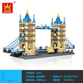 {HOT SALE} BILEGOX Lego Tower Bridge London WANGE 5215 NLG0043-15