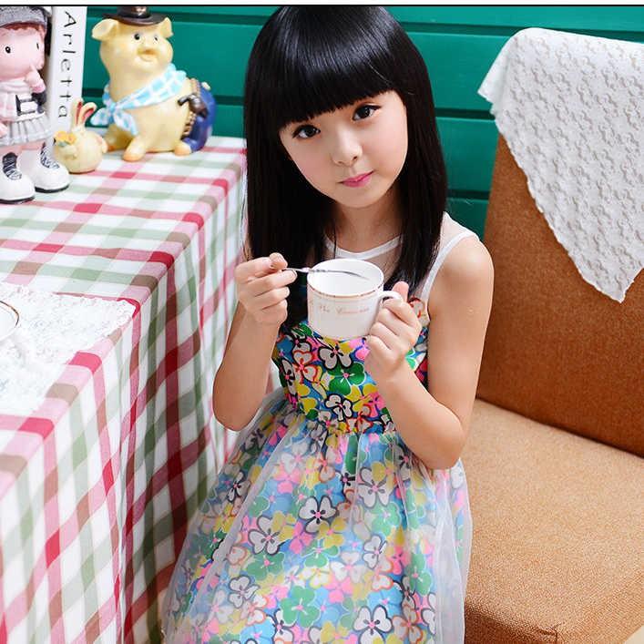 เจ้าหญิงวิกผมหญิงสาวผมยาวตรงวิกผมเด็กสาวเกาหลีวิกธรรมชาติของเด็กนักเรียนวิกผมชุด