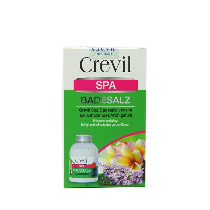 Muối khoáng tắm, tẩy da chết CREVIL SPA BADESALZ nhập khẩu Đức