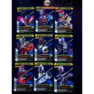 Full bộ 9 thẻ Final Form Rider : OOO, BUILD, EX-AID, GAIM, Ghost, Zi-O, Drive, Fourze, Wizard
