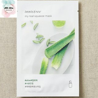 Mặt nạ giấy Innisfree It s Real Squeeze Mask 20ml [17 vị] 7