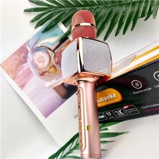 Micro Karaoke Không Dây Tích Hợp Loa Bluetooth SD16, Âm Thanh Chất Lượng Cao, Mic Bắt Giọng (Cắm Usb, Thẻ Nhớ, Cổng 3.5)