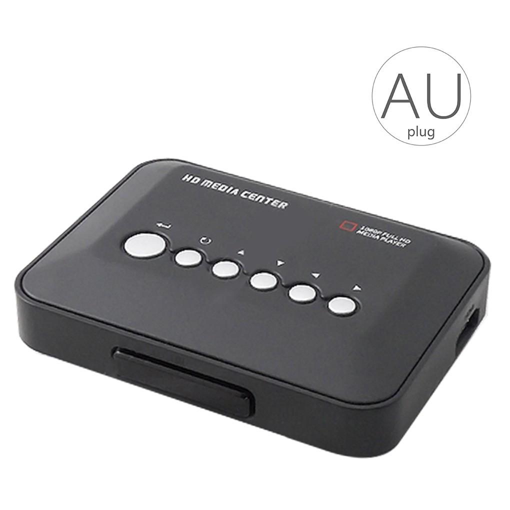 1080P Full-HD Portable Digital Player USB Drive//SD Cards Video Play HDMI//AV//VGA