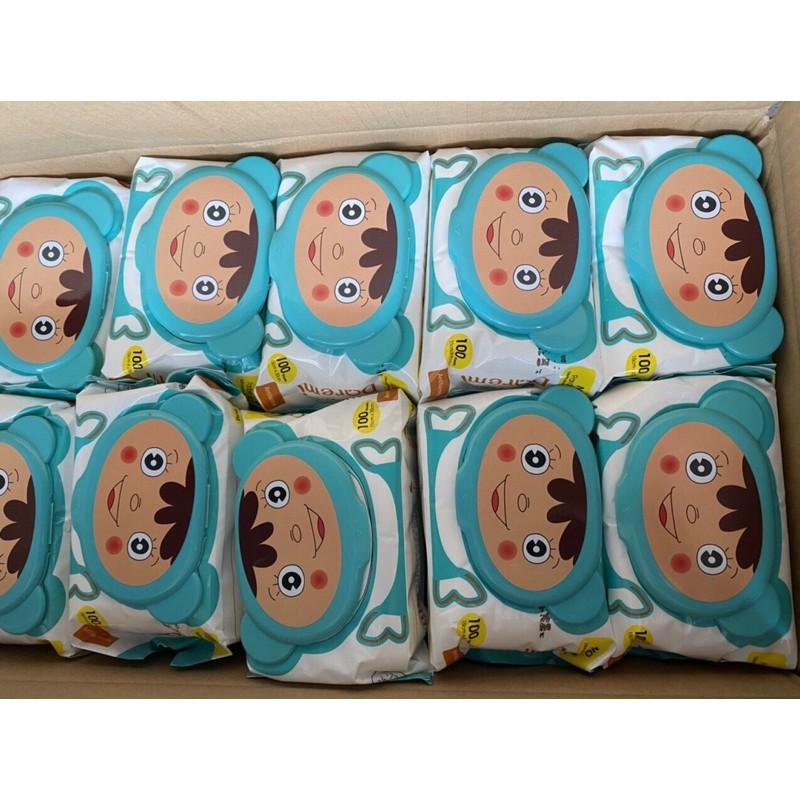 Khăn giấy ướt gấu Hàn Quốc 100 tờ không mùi - FREESHIP
