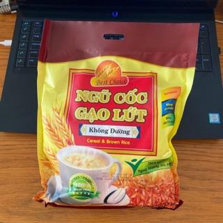 Ngũ cốc Gạo Lứt không đường ăn kiêng Best Choice 540gr (18 gói x 30gr)
