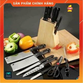 Set dao inox nhà bếp 8 chi tiết