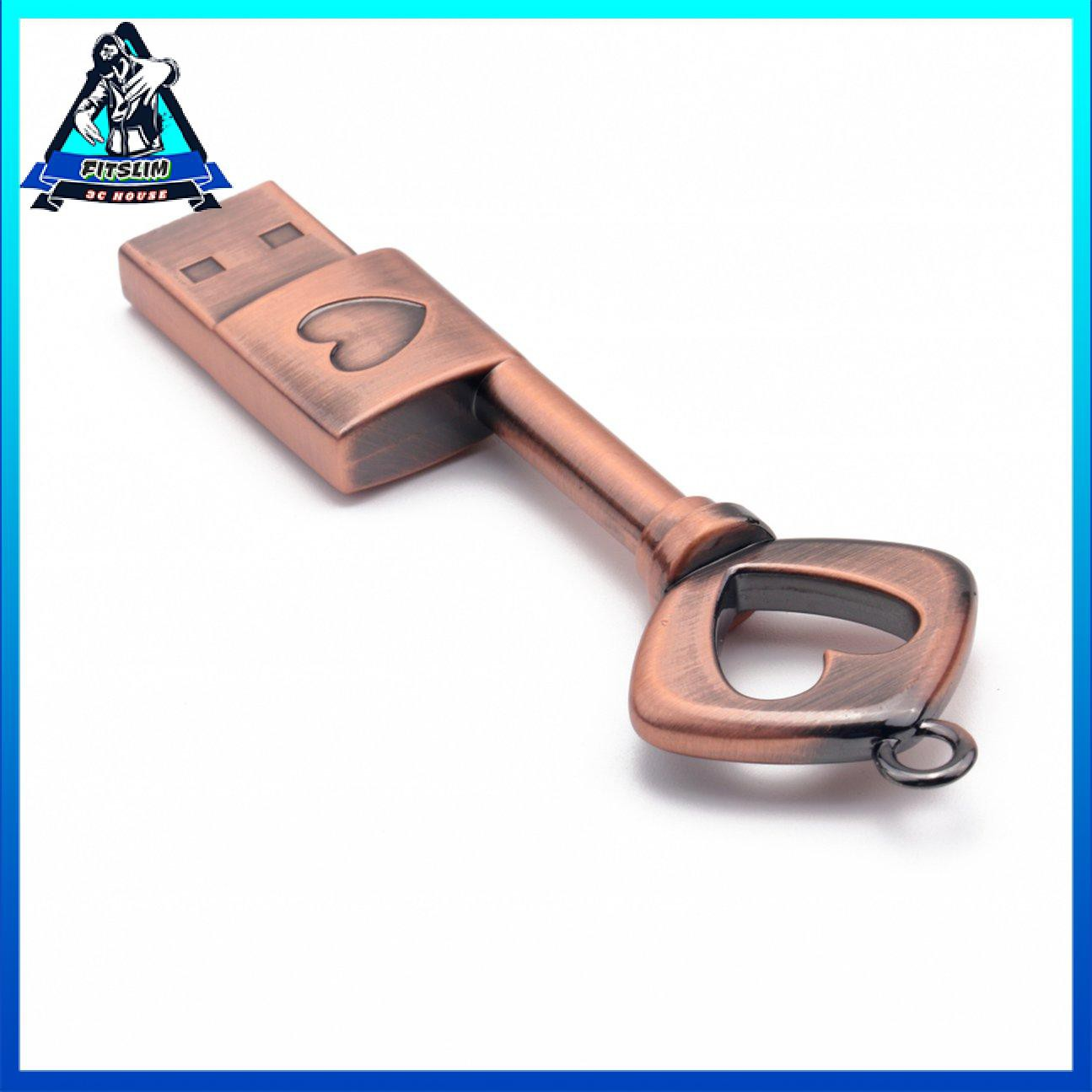Hình dạng khóa sáng tạo di động Giao diện USB2.0 Ổ đĩa flash USB nhỏ