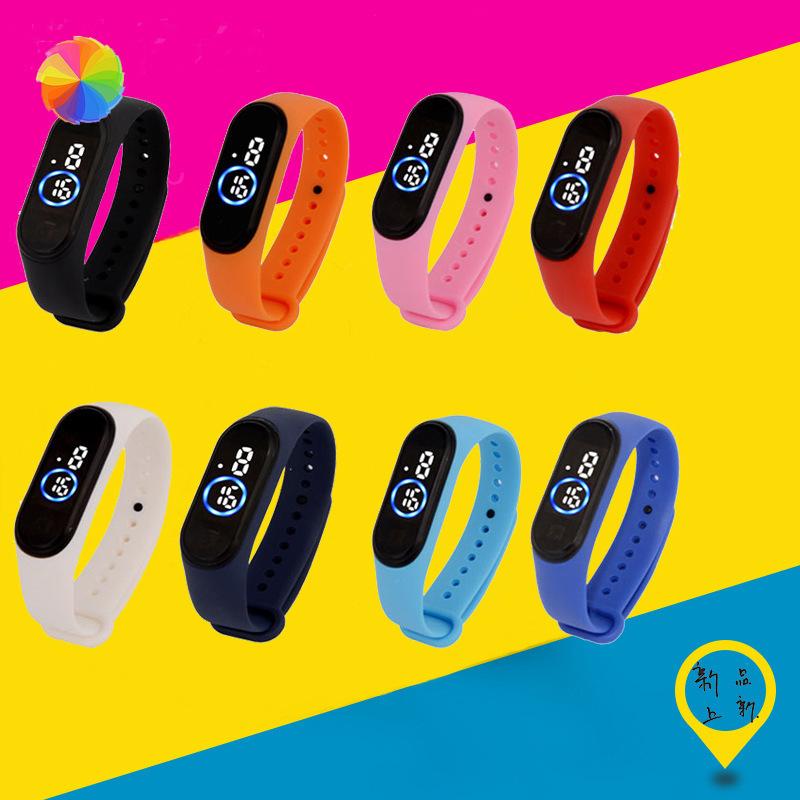 Đồng hồ điện tử thể thao đèn LED chống thấm nước Millet 4th cho bé