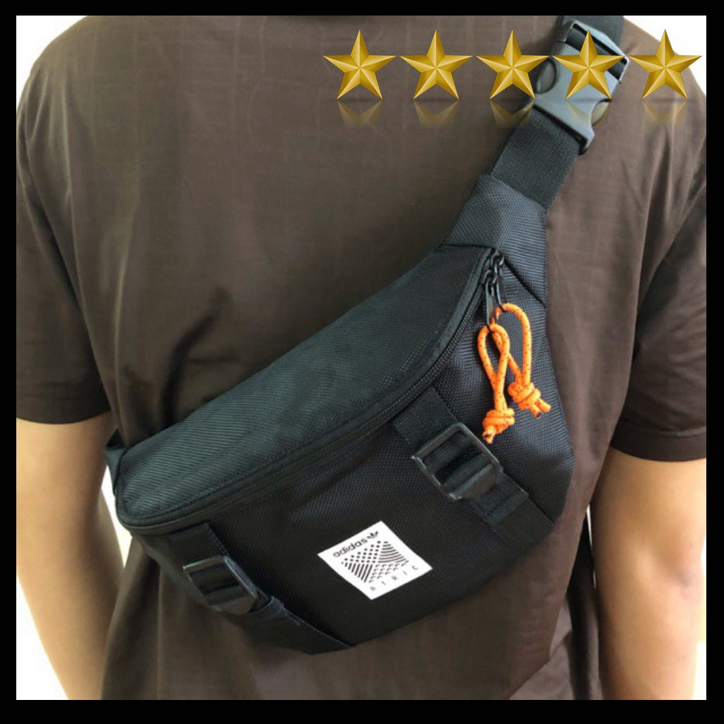 Túi đeo chéo Originals Atric Black Bum Bag/ tui deo cheo/ túi bao tử/ bao tu/ túi chéo da/ ulzzang/ túi da/ balo/ unisex