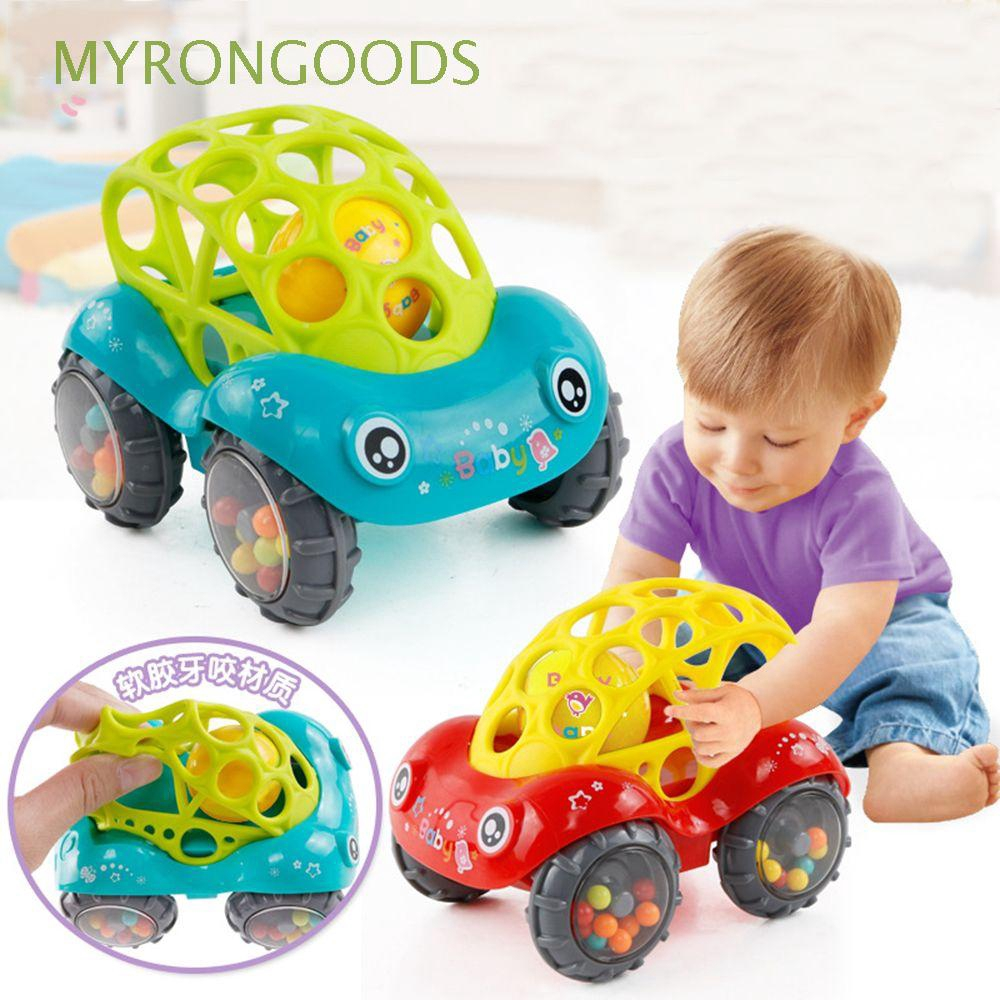 Gift Colorful Development Educational No-toxic Rattles Car