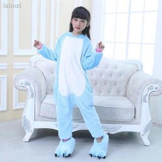 ♞Bộ đồ ngủ liền thân kiểu hình kỳ lân dễ thương dành cho trẻ em