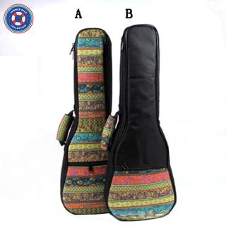 21 23 26 Inch Bohemia Style Portable Cotton Padded Bass Guitar Gig Bag Ukulele Case Box