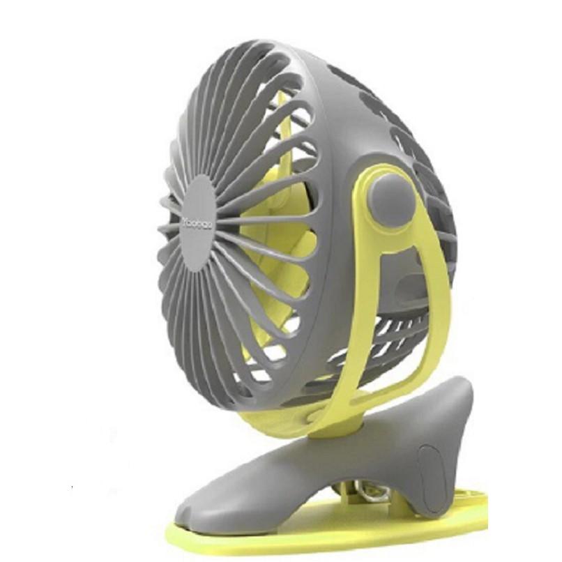 Quạt sạc mini xoay góc 720 độ, đế kẹp đa năng hoặc đặt bàn với 4 nấc điều chỉnh gió (6400mAh) YOOBAO F04