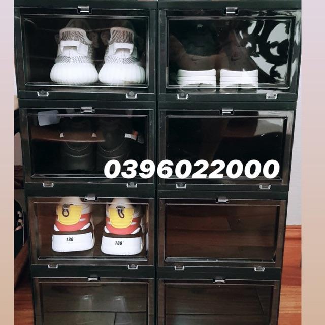 (Ship hoả tốc 1H) Hộp đựng giày thông minh - shoes box -  sneake