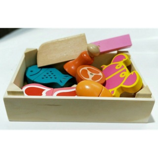 Đồ chơi cắt thực phẩm / đồ chơi gỗ