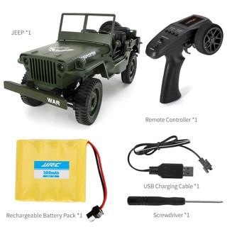 Xe Điều Khiển Quân Sự Jeep JJRC Q65 Tỉ Lệ 1:16 4WD Truyền Động 4 Bánh