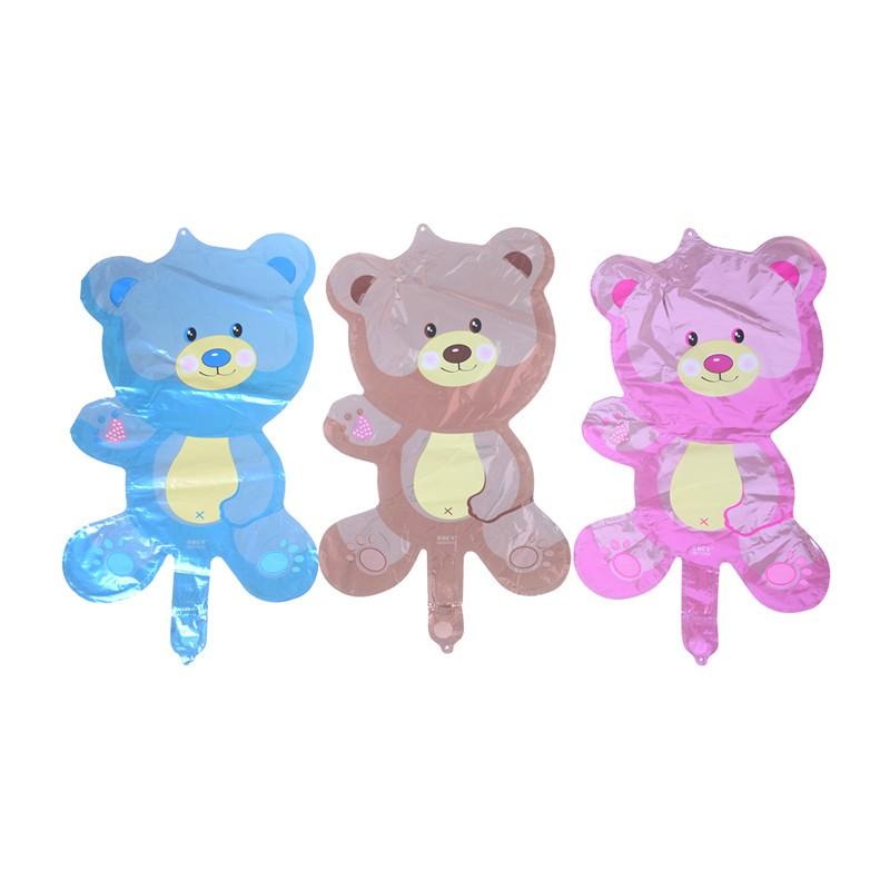 ❤❤Children Bear Toys Foil Balloons Cartoon Birthday Wedding Party Decoration