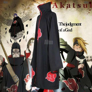 alialimama 🔥 Animer Cosplay Costume Akatsuki itachi Cloak Superior Quality Anime Convention