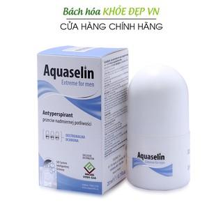 Aquaselin for men 20ml Lăn khử mùi không mùi cho nam - Dùng cho mọi loại da