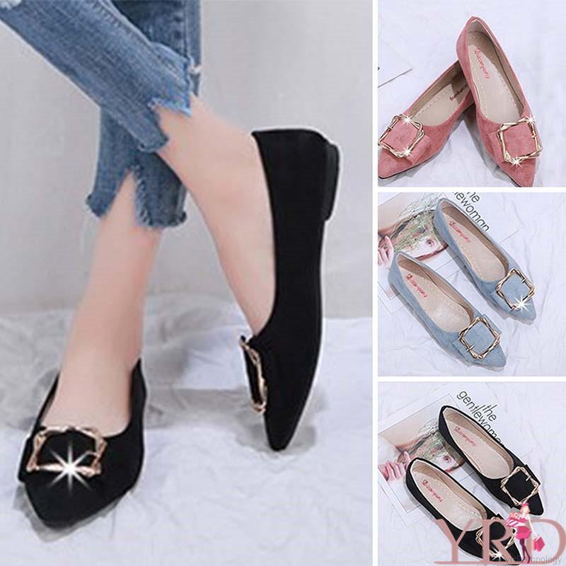 Giày búp bê mềm mại thanh lịch cho nữ
