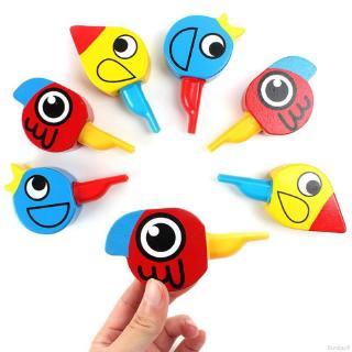 Cartoon Animal Bird Whistle Baby Wooden Music Toys Musical Instrument Early Educational Toy💕Hi Fashion Baby💕