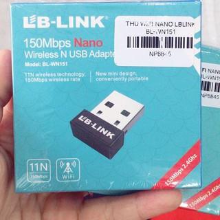 USB WIFI LB-LINK thu wifi cho máy tính bàn, laptop – Bảo hành Chính hãng 24 tháng !!!