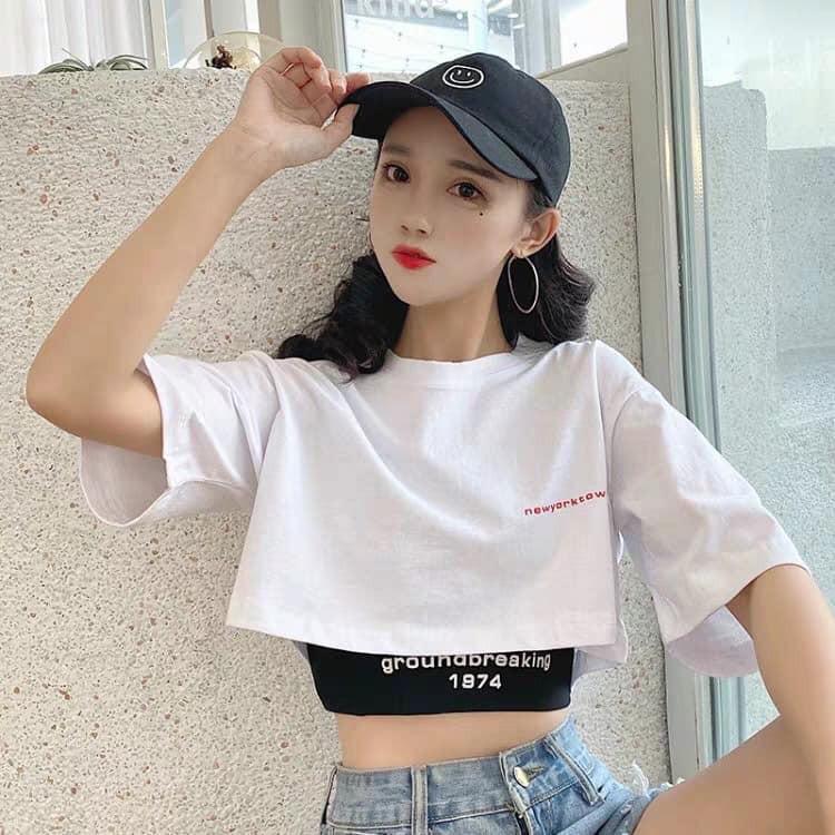 SÉT 2 ÁO CROPTOP | Shopee Việt Nam