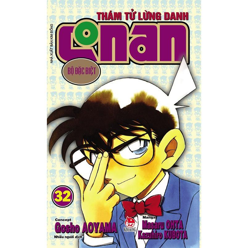 Sách - Thám Tử Lừng Danh Conan Bộ Đặc Biệt TậP 32 (Tái Bản 2019) - 21715074 , 2790397001 , 322_2790397001 , 18000 , Sach-Tham-Tu-Lung-Danh-Conan-Bo-Dac-Biet-TaP-32-Tai-Ban-2019-322_2790397001 , shopee.vn , Sách - Thám Tử Lừng Danh Conan Bộ Đặc Biệt TậP 32 (Tái Bản 2019)